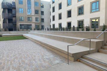 Loyola Marymount University concrete work